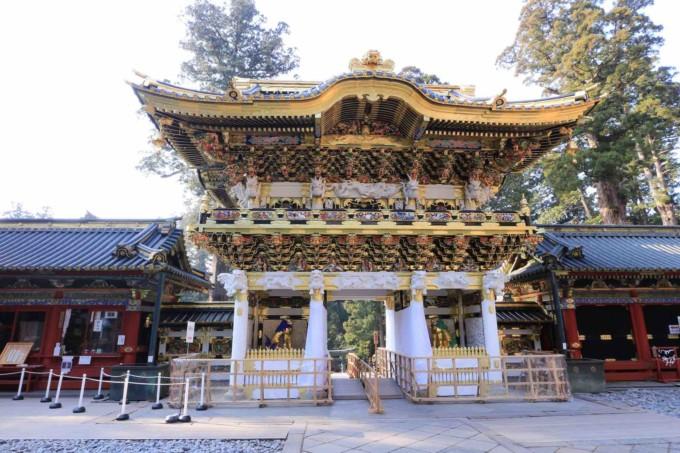 栃木県の日光の社寺