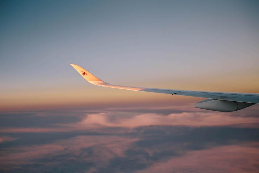 カタール航空の機体