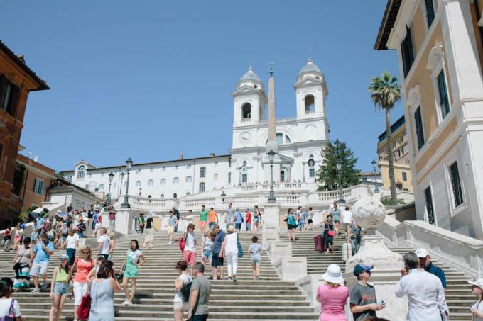 ローマにあるスペイン広場