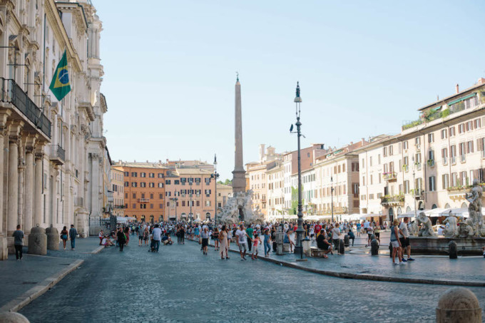 ローマ市内の様子
