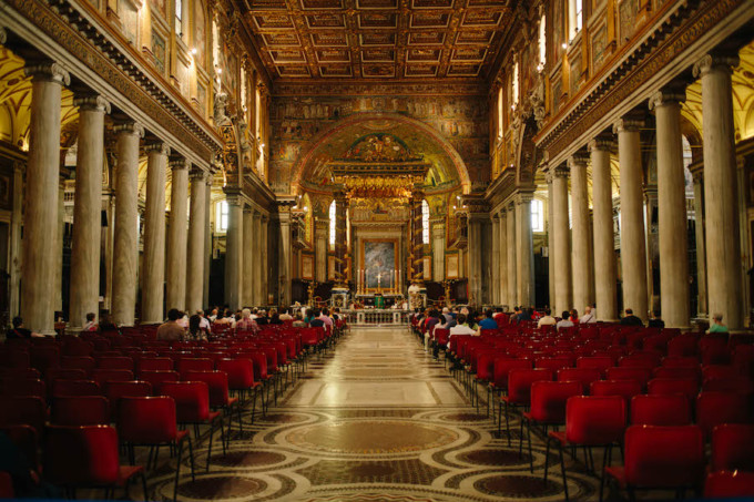 美しいサンタマリアマッジョーレ教会