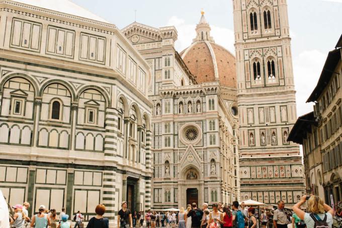 美しすぎるフィレンツェの街並み