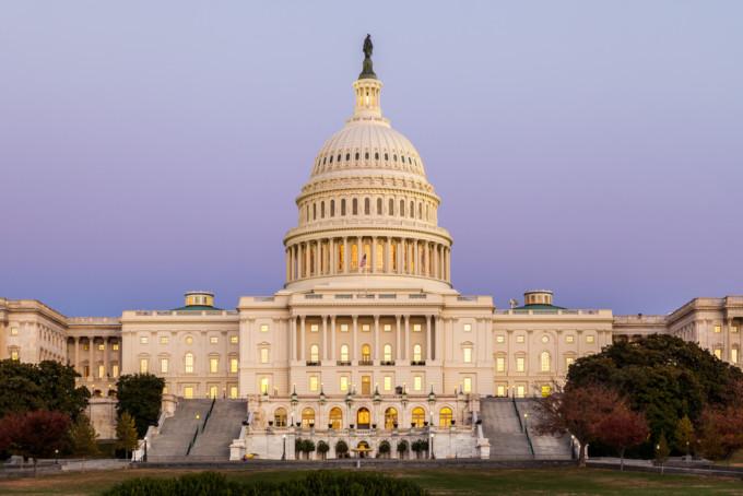 ワシントンD.C.の国会議事堂