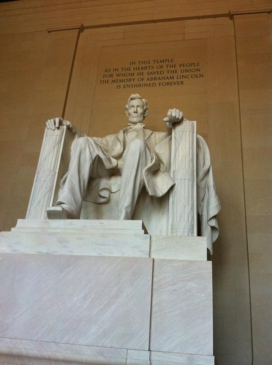 ワシントンD.C.のリンカーン・メモリアル