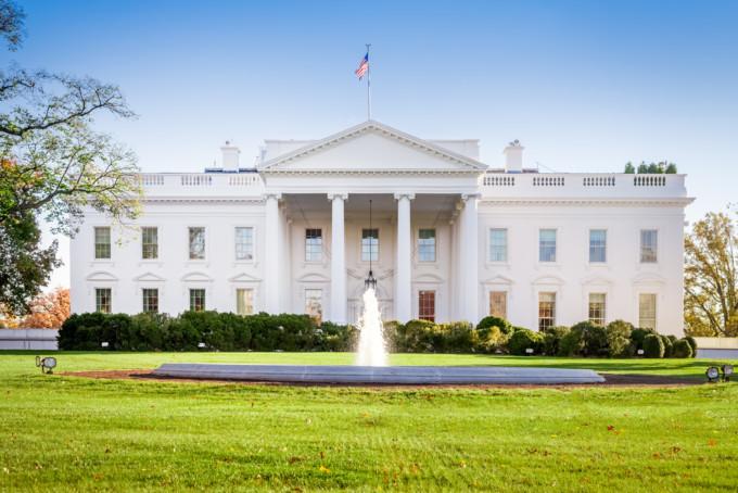 ワシントンD.C.のホワイトハウス