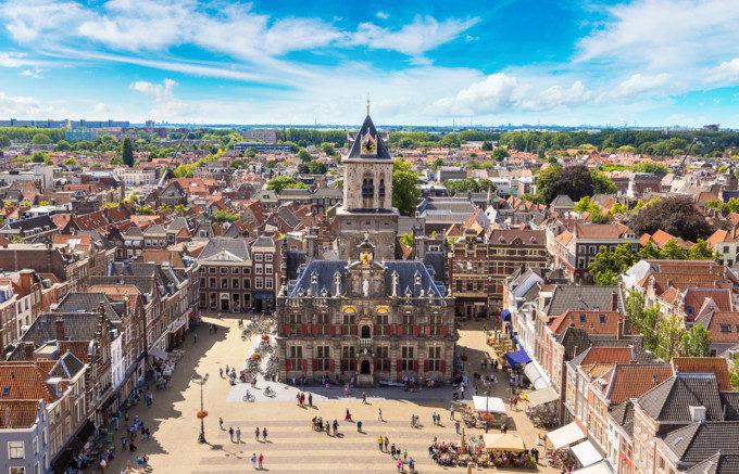 協会がきれいなアムステルダム