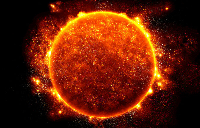太陽フレア到来!グローバルWiFi...