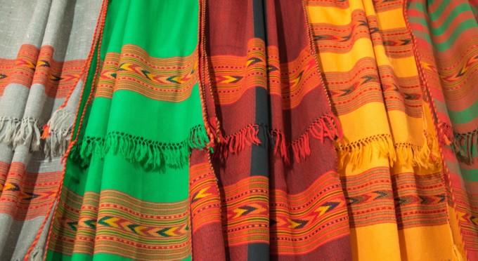 手織物製品