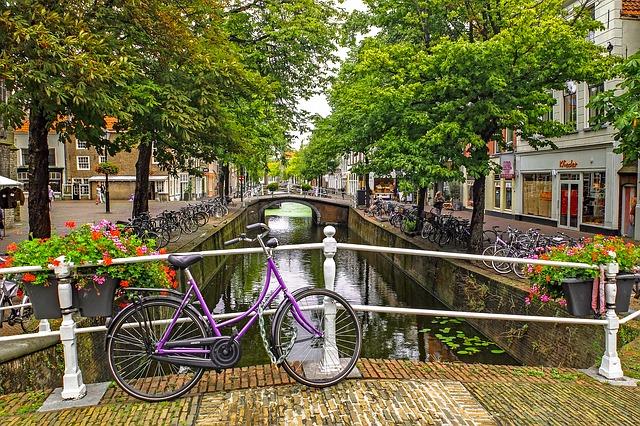 オランダの静かな風景