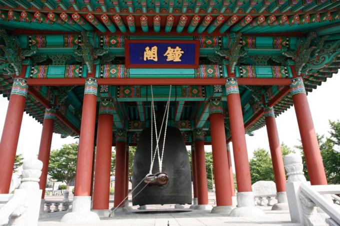 韓国にある大きな神社