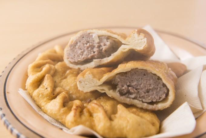 ホーショル(揚げ焼き肉まん)のレシピ