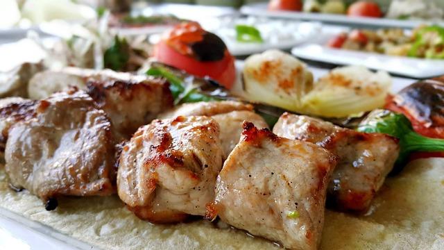 トルコ料理のチキン