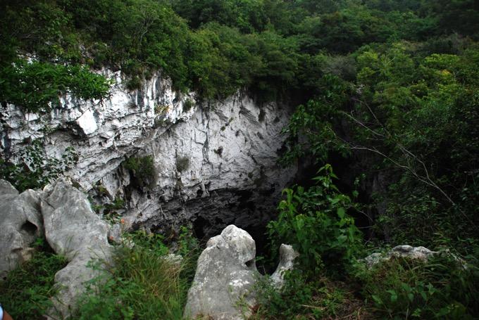 ゴロンドリナス洞窟 / メキシコ