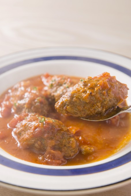 トマトソースで煮込んだトルコ料理