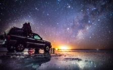 カラーで見るウユニ塩湖の24時間!あなたは何色のウユニがお好み?