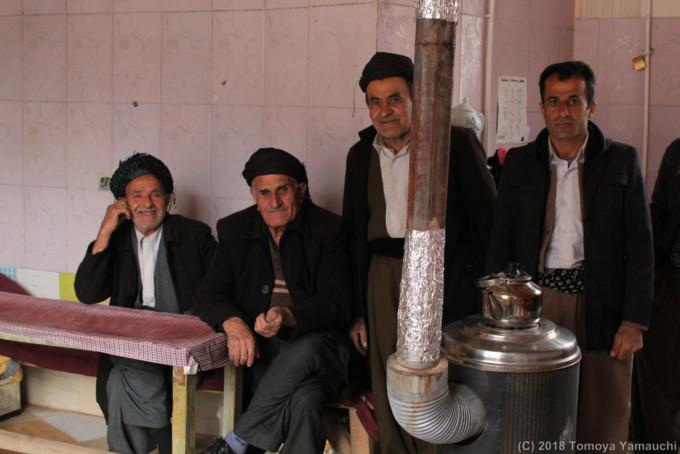 クルディスタン州で出会ったクルド人