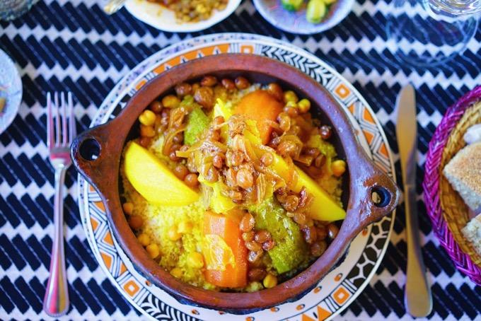 モロッコのご飯