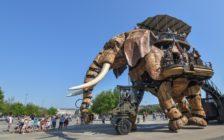 フランス人が住みたい街「ナント」にある機械仕掛けの巨大象が超絶クール!