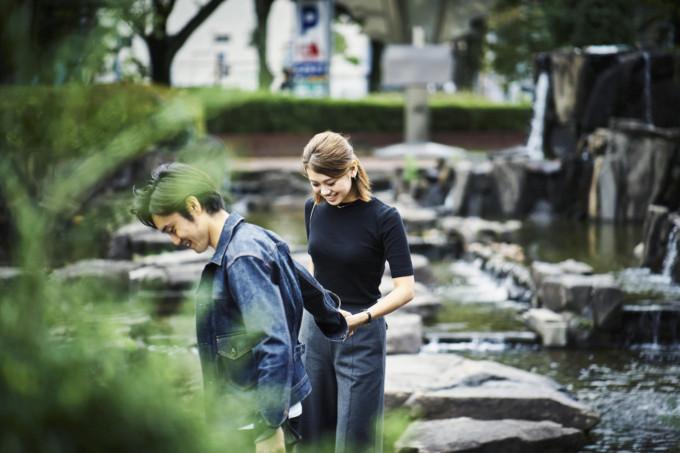 東京で自然を感じながらのデート