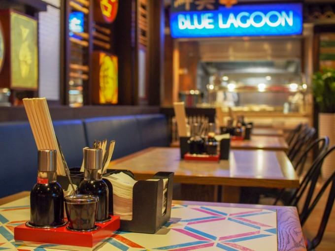 クルーズ船内のシンガポールレストラン