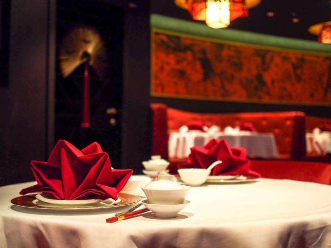 クルーズ船の中華料理屋