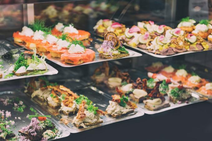 デンマークの料理に舌鼓する