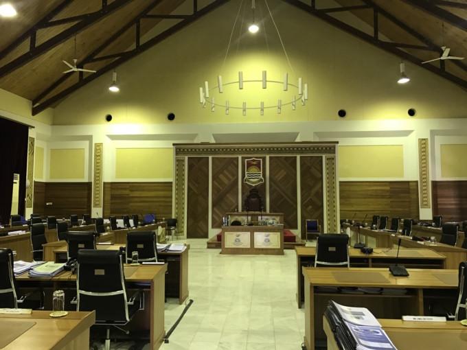 タラワの国会議事堂