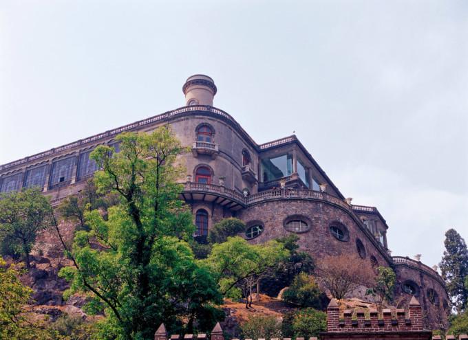 メキシコシティーにあるチャプルテペック城