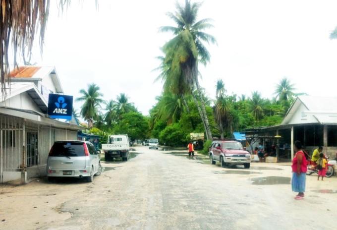 キリバスの道路