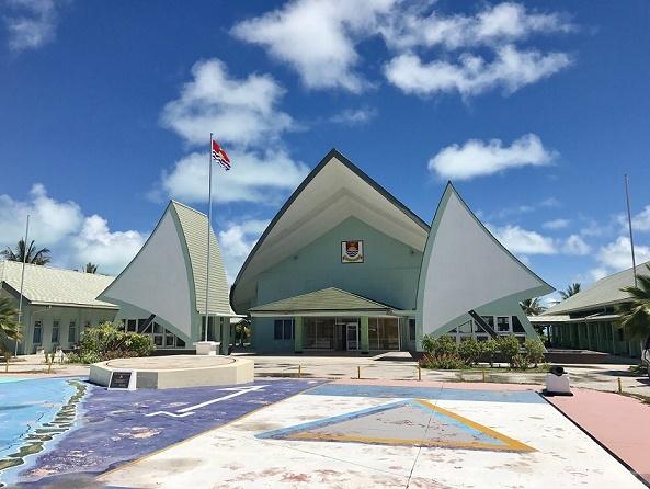 キリバスの国会議事堂