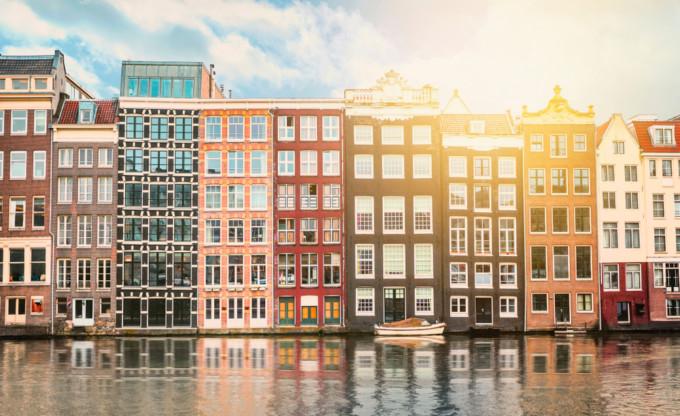 オランダのカラフルなスポット