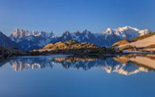 美しすぎるスイス・フランスのモンブラン山