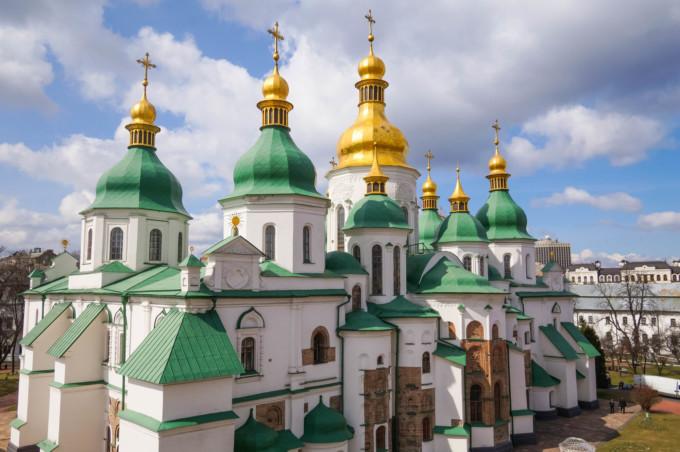 聖ソフィア大聖堂の美しい景観