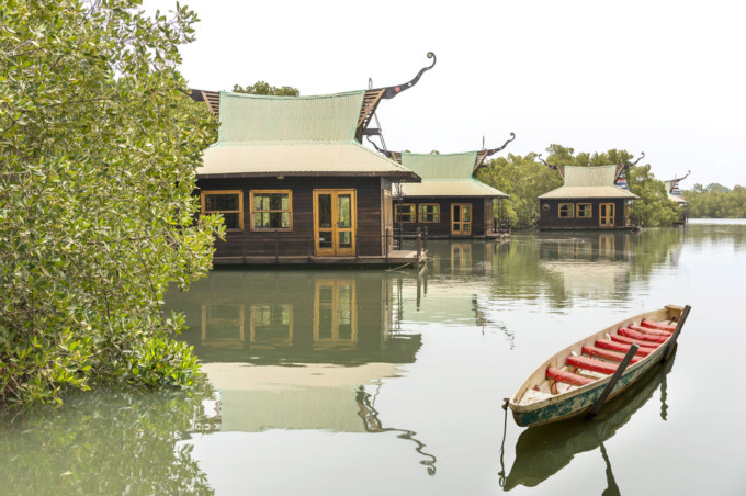ガンビア川の風景