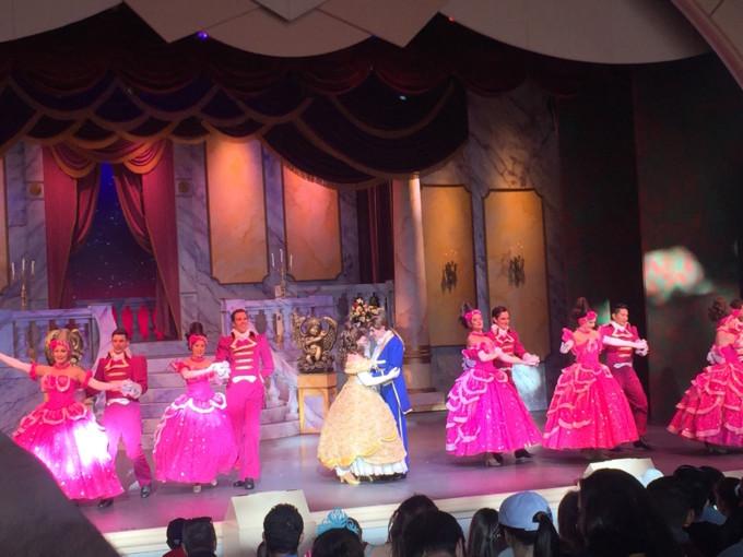 ウォルト・ディズニー・ワールド・リゾートの美女と野獣ショー