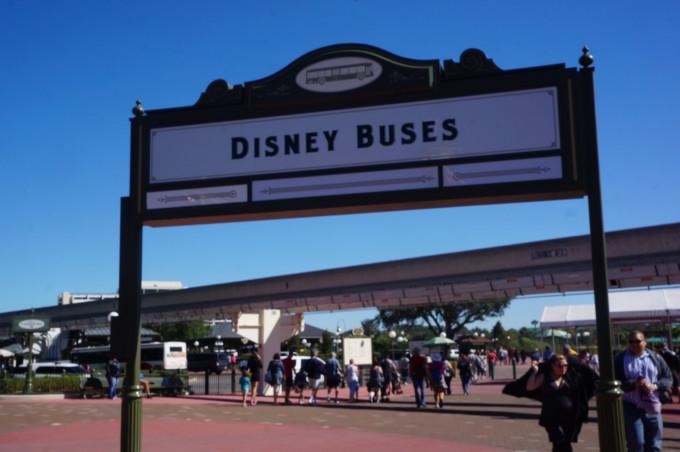 ウォルト・ディズニー・ワールド・リゾートのバスステーション