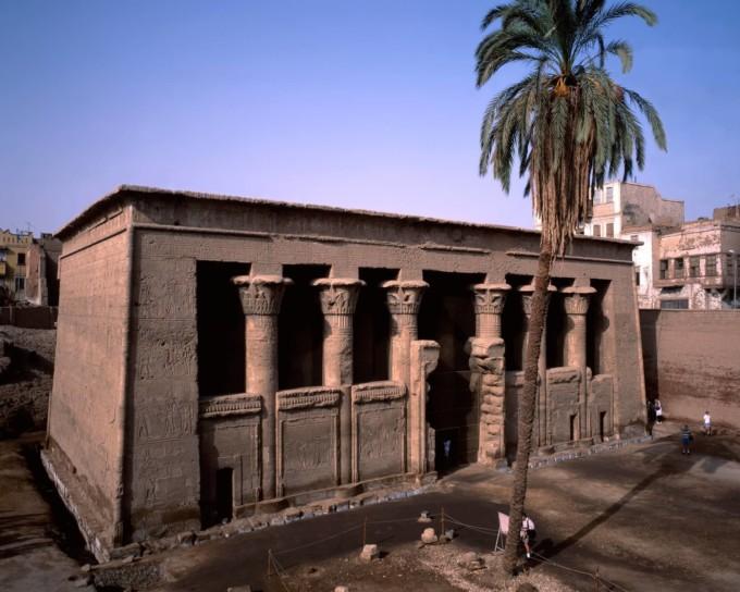 ルクソールにあるクヌム神殿