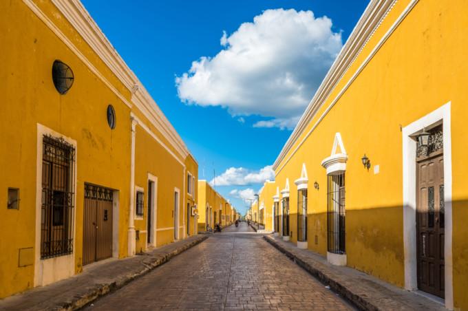 イサマルの黄色い街並み
