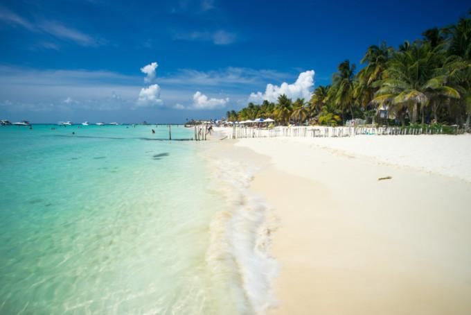プラヤノルテの美しいビーチ