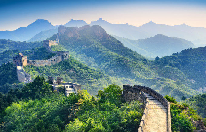 中国の世界遺産、万里の長城