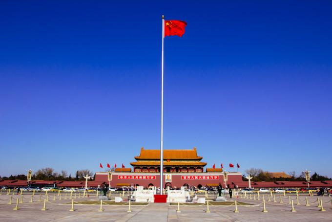 中国にある天安門広場