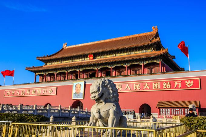 中国にある天安門