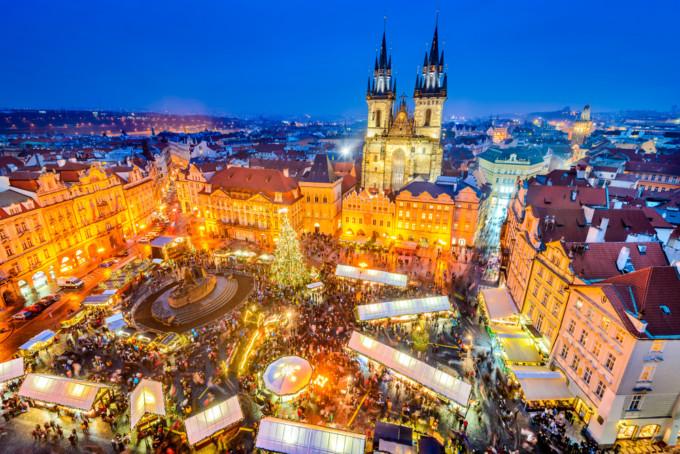 プラハの美しいクリスマス
