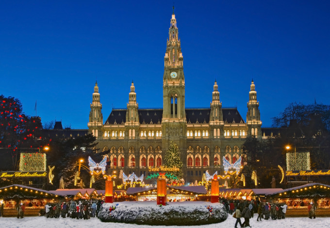 ウィーンの美しいクリスマス