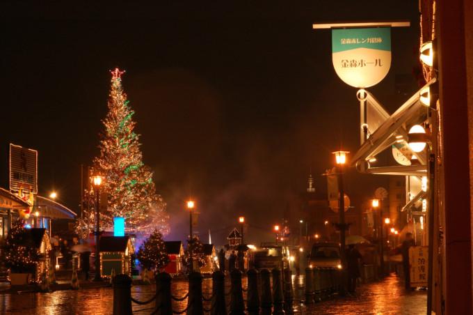 北海道にある函館ベイのクリスマス