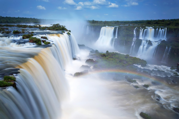 アルゼンチンのイグアスの滝