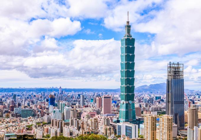アジアにある台北の景色