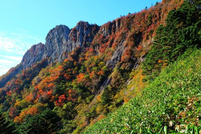 愛知県にある石鎚山