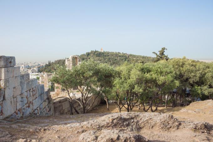アテネにあるプニュクス