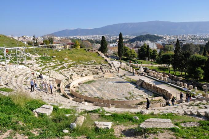 アテネにあるディオニューソス劇場